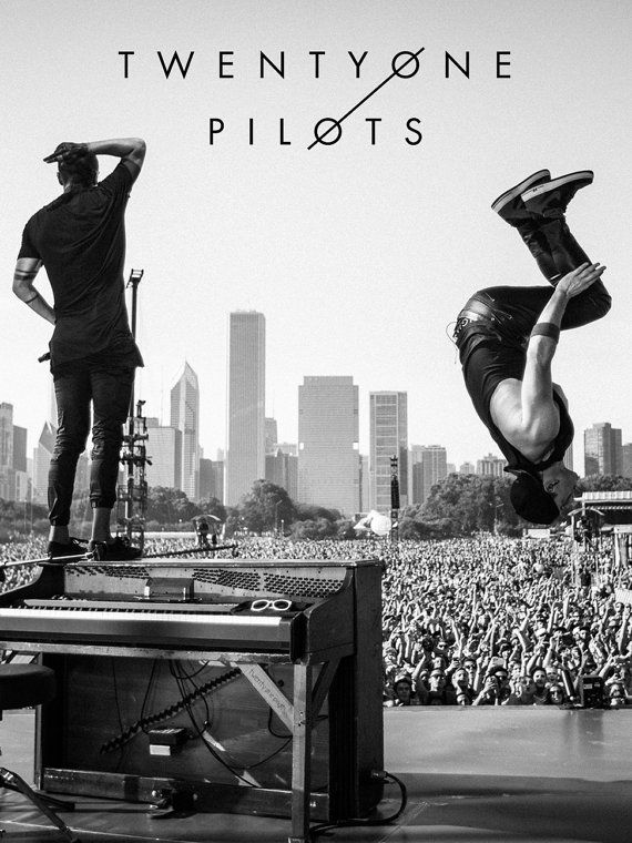 Twenty One Pilots Collectors Lollapalooza 2015 by HoneyhiveCo