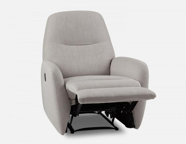 ZAC - Recliner armchair - Light Grey