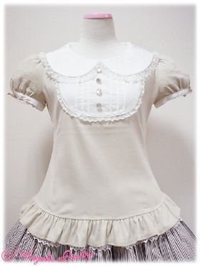 Nostalgic Round Switching Cutsew in Mocha/Beige from Angelic Pretty - Lolita Desu