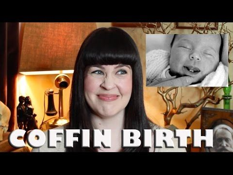 WARNING: Morbid (but fascinating!) ASK A MORTICIAN- Coffin Birth