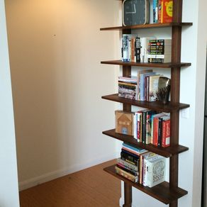 Minimalist Bookshelf by Alex Jaynes