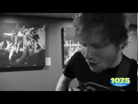 Ed Sheeran Cover Hit Me Baby One More Time - YouTube      I used to hate this song.... Not anymore. Oh gawd ed