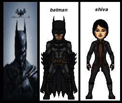 batman arkham origens most wanted Lady shiva