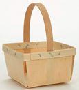 berry basket w/ handle by texas basket company. $0.85