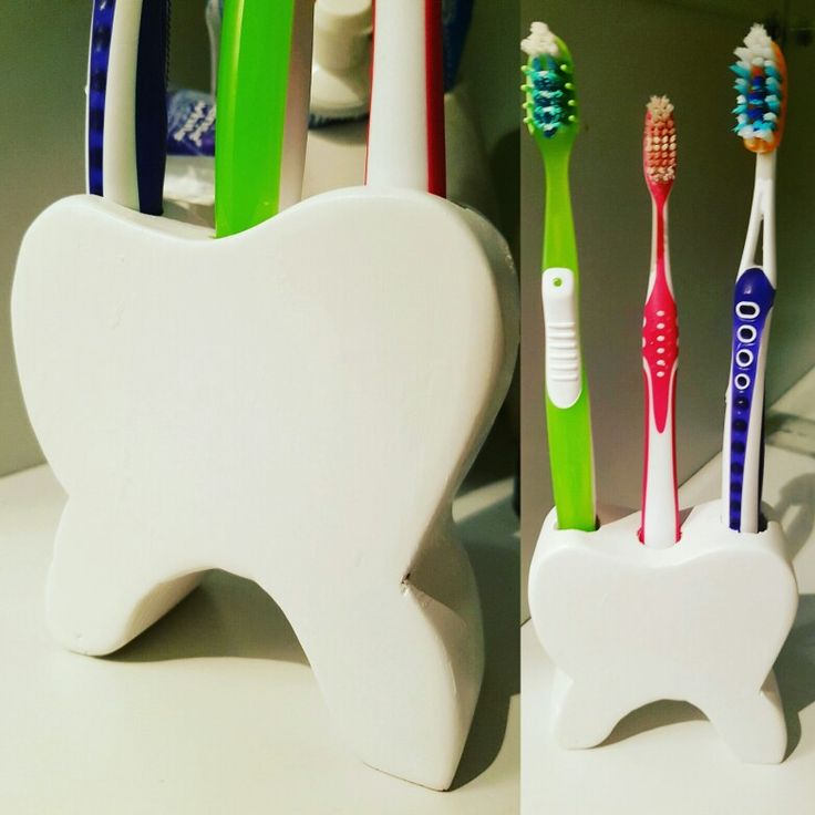 Dente porta spazzolini
