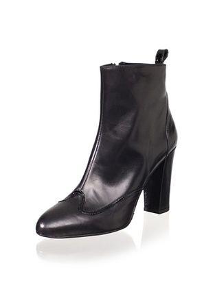 Delman Women's Folly Ankle Boot (Black)