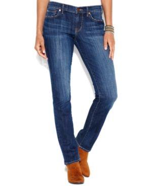 Lucky Brand Sweet 'N Straight-Leg Jeans - Blue 33S