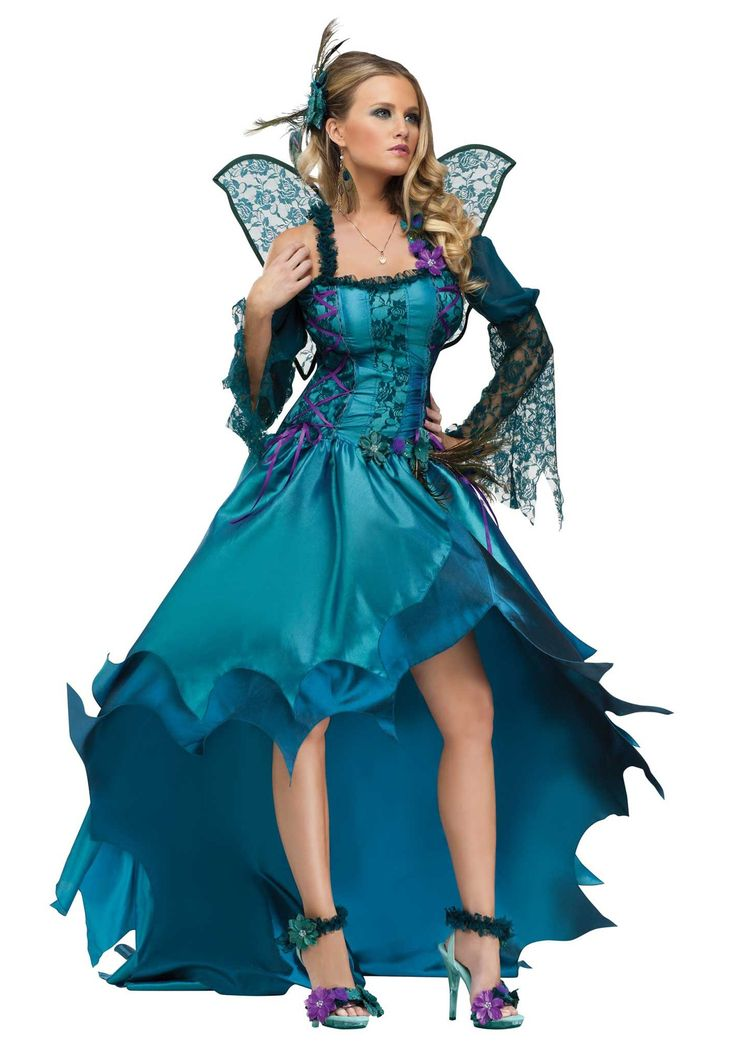 Fairy Costumes For Women  Womens Peacock Fairy Costume -8145