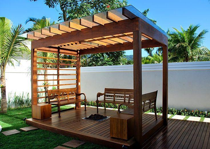 Decor Salteado - Blog de Decoração | Arquitetura | Construção | Paisagismo: Pergolados - veja modelos maravilhosos + dicas!