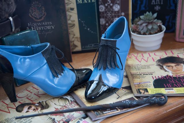 Make your own Fleur Delacour Beauxbatons Shoes (Author Robin King)