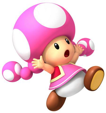 Favorite Mario Character: Toadette!