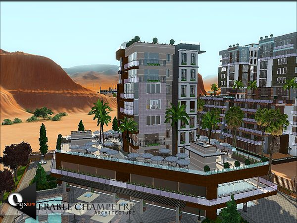 Erable Champetre ten-story luxury residence by Onyxium - Sims 3 Downloads CC Caboodle