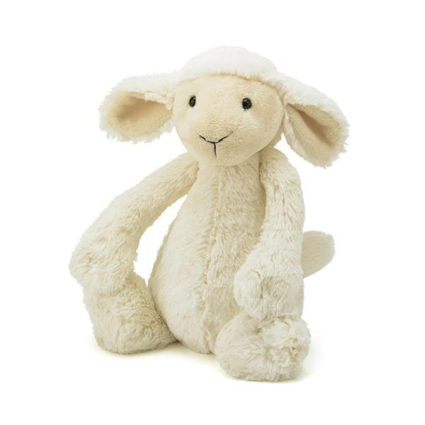 Jellycat Bashful Lamb Soft Toy available at www.sendatoy.com.au