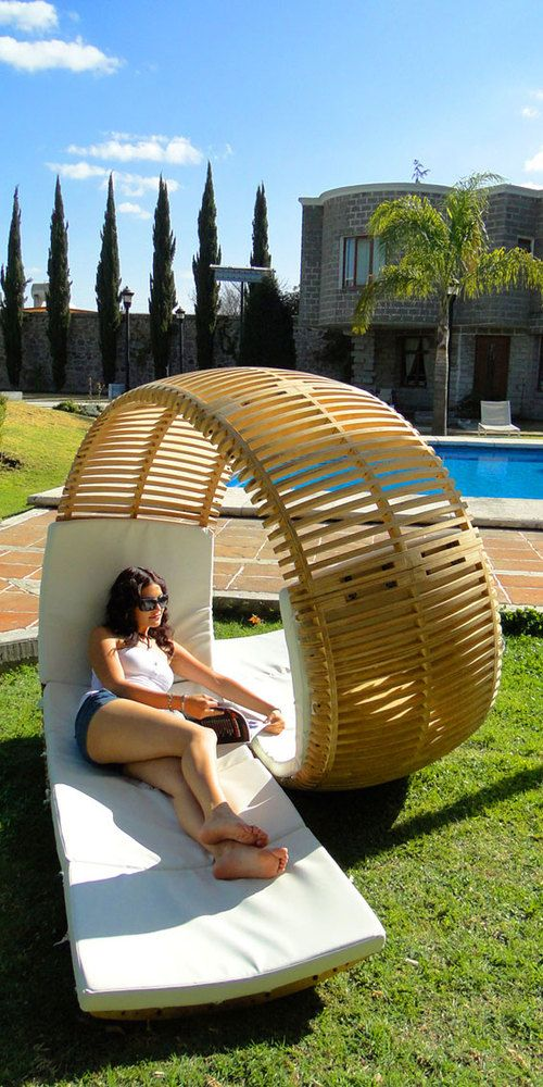 Probably one of the coolest chairs I've ever seen.