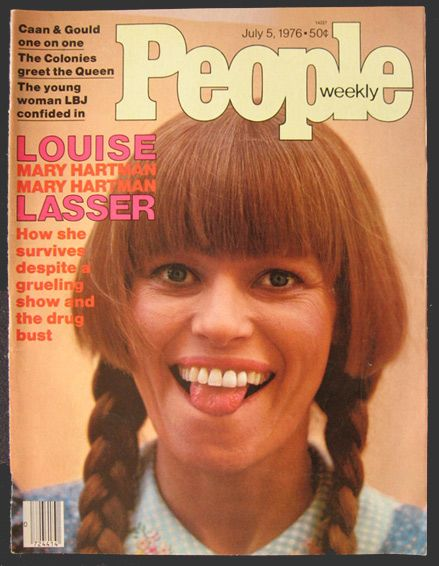 Everyone loved Mary Hartman, Mary Hartman. Original cover of People Magazine dated July 5, 1976, featuring Louise Lasser.