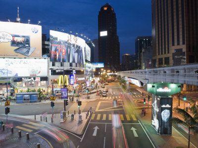 Bintang Walk, Bukit Bintang, Kuala Lumpur, Malaysia, Southeast Asia, Asia