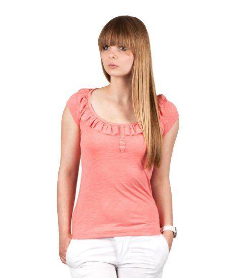 Different color please!! Sublevel Damen Top by Eight2Nine Jeans H/M 2013 Star MOD 5057 orange D.G S M L XL XXL: Amazon.de: Bekleidung