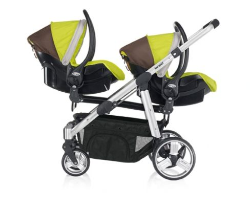 twin strollers with car seats | Car seats - Ovo Twin - Twin stroller - modular system 0 m+