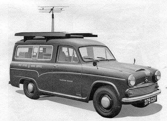 Morris half ton TV Detector Van