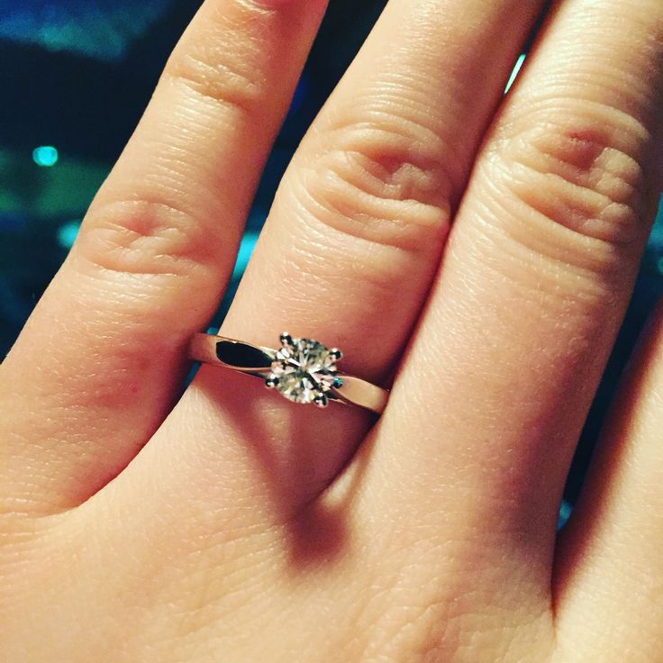 1 2 carat beautiful simple engagement ring