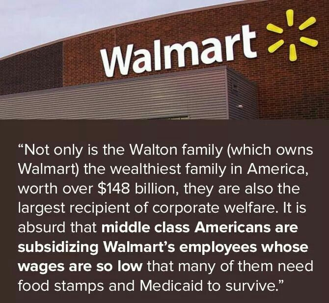 It doesn't surprise me it maybe be true about Walmart but there everywhere way so Who is going to stop them. When most ppl shop there