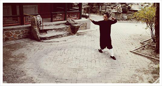 Qigong walking meditation
