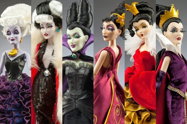 Disney Villains Designer Collection (El Mundo de los Villanos)