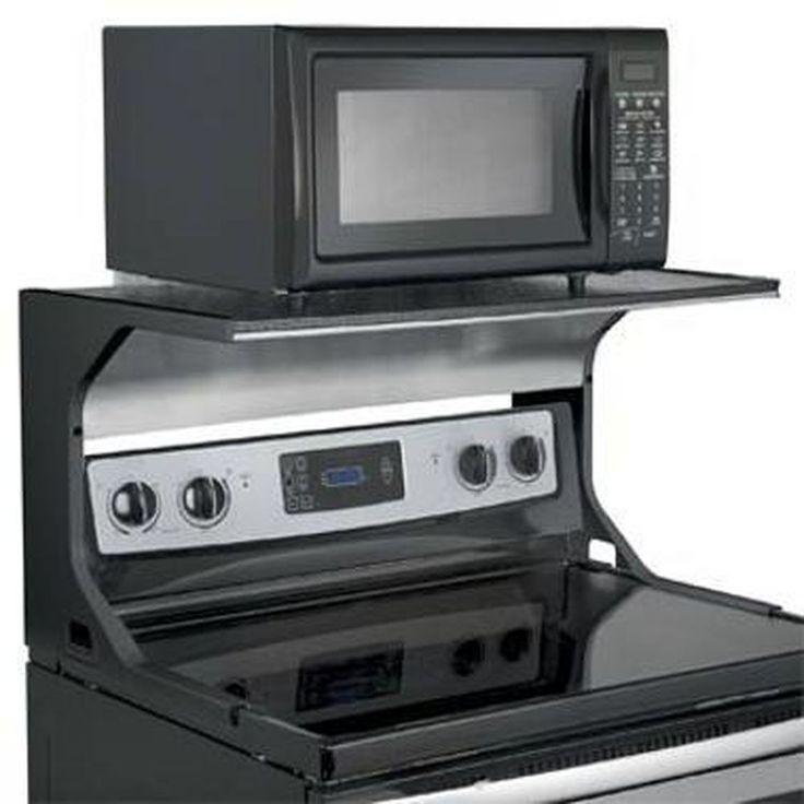 Microwave Oven Shelf Bracket Skymall Com 0000 Cosas