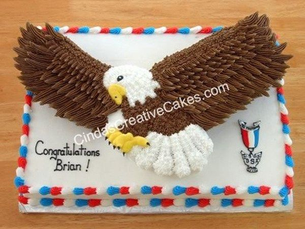 The 10 Eagle Scout cakes here are some of the best-looking I've ever seen, and I think you'll agree. Just, please, no licking the screen.