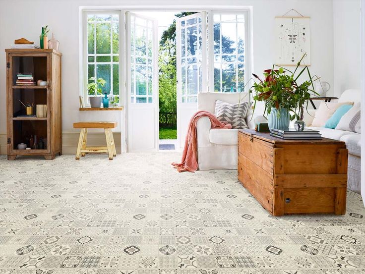 Starfloor Click Retro Black White from Tarkett | PerPR