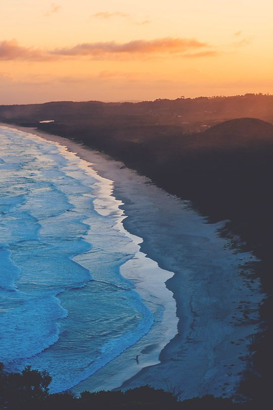Byron Bay is a beachside town located in the far-northeastern corner of the state of New South Wales, Australia