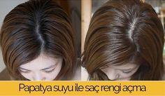 Hızlı ve sağlıklı saç rengi açma yöntemi : papatya suyu