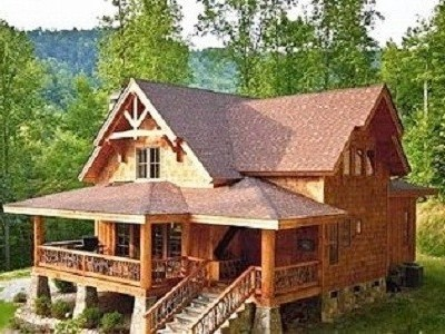 Mountain Luxury In Whittier NC Cabinperfect Design For Pineridge