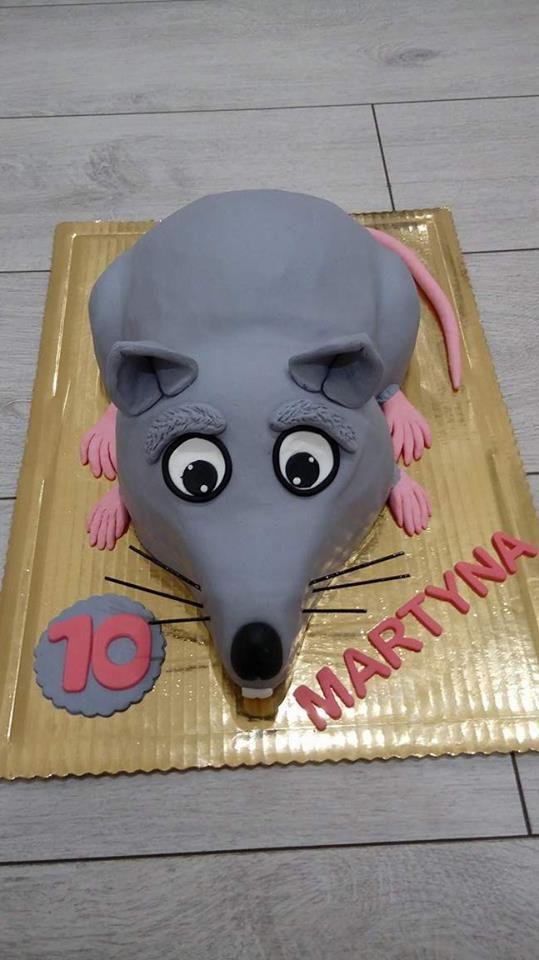 Tort szczurek - czy coś takiego :-)