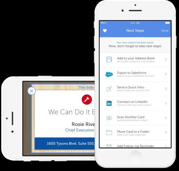 Best Business Card Reader Scanner Apps For Iphone And Ipad