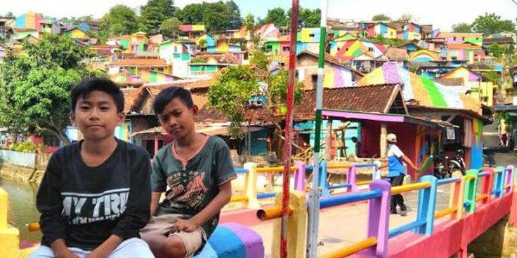 Kampung Pelangi Mendunia, Pemkot Semarang Tambah Panggung Swafoto - Kompas.com