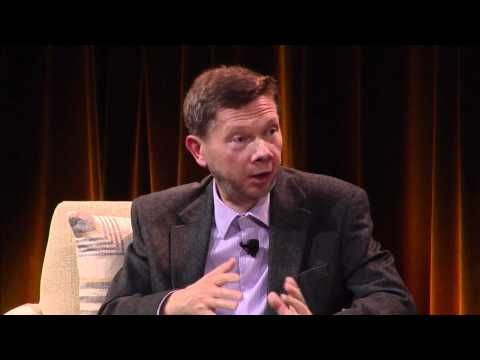 Eckhart Tolle visited Google and was interviewed in the presence of Google staff.  His key message was that technology can take over your life because it accelerates your thoughts and emotions.  He argues that our real existence is about developing consciousness.  He told Google staff that the path to real creativity and happiness was through being in the moment.  Eckhart Tolle offered some consciousness practices that you could undertake even while you are in the front of your computer.