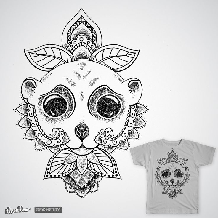 Wild animal on Threadless