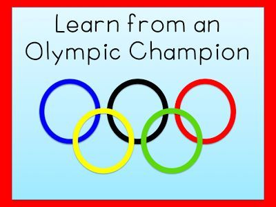 Learn from an Olympic Champion: tips for teachers.