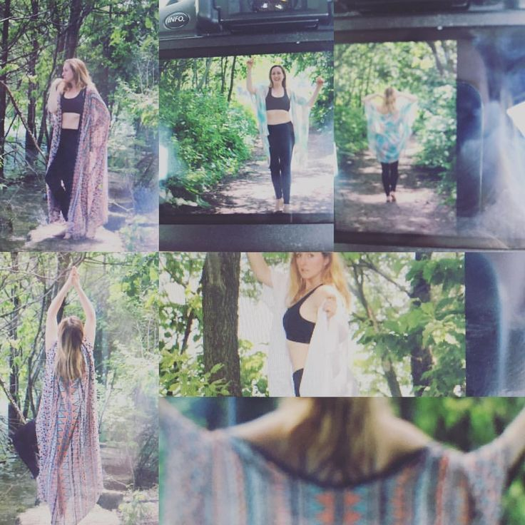 """11 Likes, 1 Comments - Michelle Righetti (@indelinkfilms) on Instagram: """"Sneak peek! A few of my fave shots from today- modelling some brand new Reiki and Yoga Kimonos…"""""""