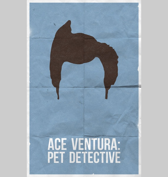 Ace Ventura Pet Detective poster by WilliamHenryDesign on Etsy, $20.00