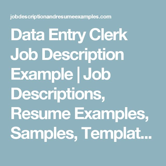 Best 25+ Data entry job description ideas on Pinterest Direct - travel agent job description