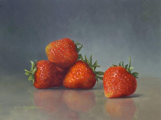 aardbeien - Pita Vreugdenhil