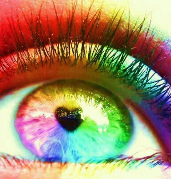 #rainbow #eyes