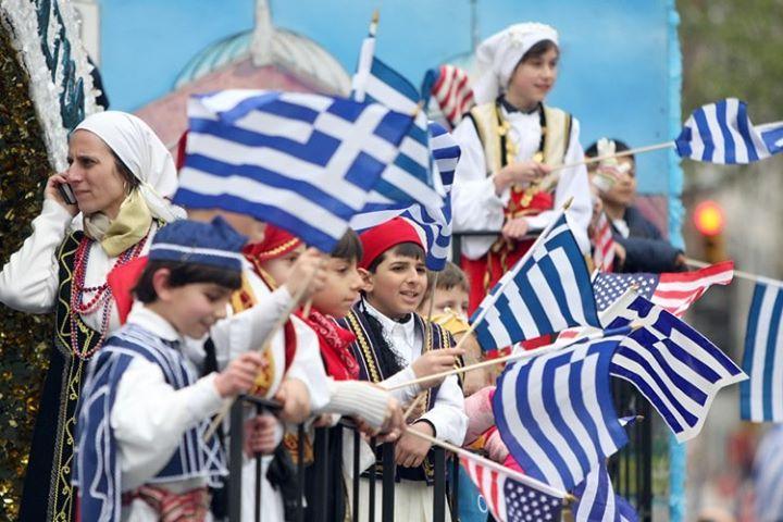 GREEK INDEPENDENCE DAY PARADE SUNDAY MARCH 24, 2013. TARPON SPRINGS.