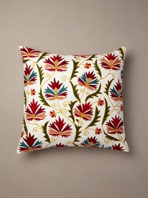 Suzani Chinarose pillow