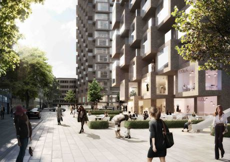 Oscar Properties : Helix och Innovationen #oscarproperties  city - park - stockholm - architecture - design