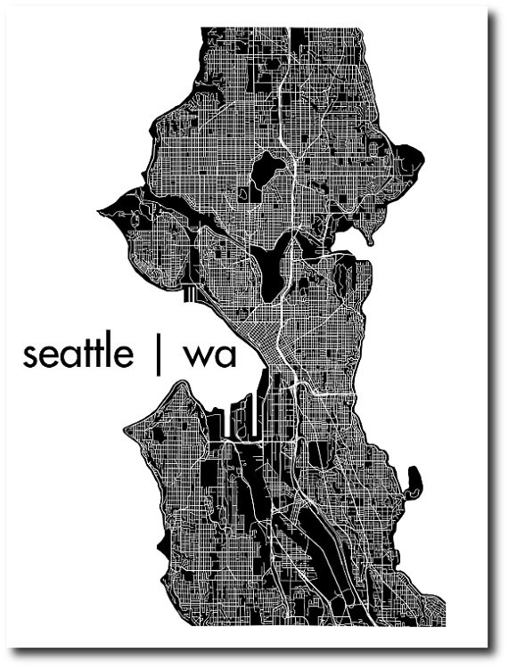 17 Best images about Seattle Maps on