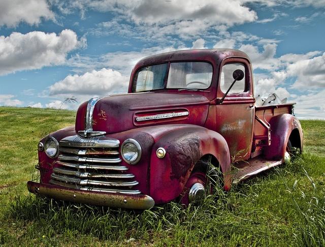 Old PickUp Ford pickup trucks, Old vintage cars, Pickup