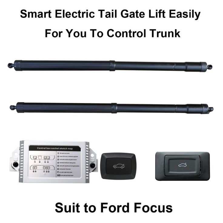 Smart Auto Electric Tail Gate Lift for Ford Focus Remote Control Drive Seat Tail Gate Button Set Height Avoid Pinch